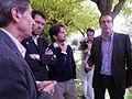 Flickr - Convergència Democràtica de Catalunya - Oriol Pujol, amb Ramon Alturo, Marc Solsona i Albert Batalla.jpg