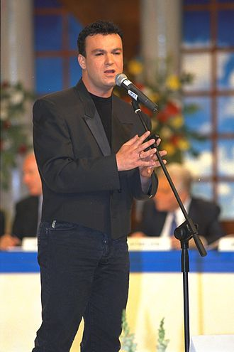 David D'Or - David D'or singing at Israel Prize ceremony