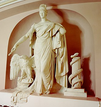 Liberty and the Eagle plaster, by Enrico Causici Flickr - USCapitol - LIberty and the Eagle.jpg