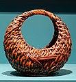 Flower basket (hanakago), Japan, 1800s-1900s, bamboo, plant fiber - Fowler Museum - University of California, Los Angeles - DSC02350.jpg