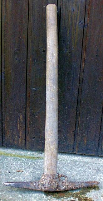 Gezähe - Image: Fluegeleisen 1