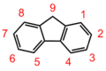 Fluorene numbered.png