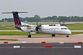 Flybe (Brussels Airlines) Dash 8 G-ECOH (7321273210).jpg