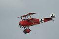 Fokker Dr.I Manfred Richthofen Last Pass 04 Dawn Patrol NMUSAF 26Sept09 (14597967494).jpg