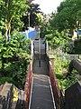 Footbridge over the railway lines west of Acland Burghley School - geograph.org.uk - 1446842.jpg