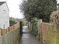 Footpath off Harrow lane - geograph.org.uk - 1776667.jpg