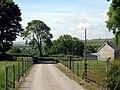 Footpath through Lancwm farm - geograph.org.uk - 1357182.jpg