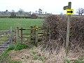 Footpath to North barrow - geograph.org.uk - 710796.jpg