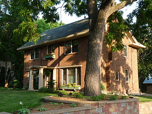 National Register of Historic Places listings in Clark County, Wisconsin - Image: Forrest Calway House