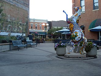Fort Collins, Colorado - Fort Collins historic district