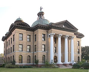 National Register of Historic Places listings in Fort Bend County, Texas - Image: Fort bend courthouse