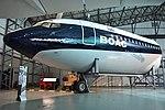 Forward fuselage of Boeing 707-436 -G-APFJ- (39187979064).jpg