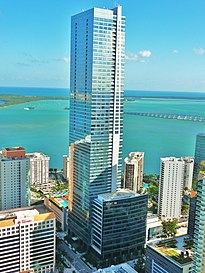 Four Seasons Hotel & Tower, das höchste Gebäude in Miami