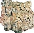 Fragment of a Turpan Manichaen Wall Painting (MIK III 6918).jpg
