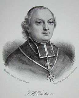 François-Jean-Hyacinthe Feutrier French priest and politician