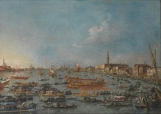 Bucintoro-festen i Venedig