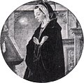Francesco del cossa, vergine annunciata, dal polittico griffoni, 1473, 25 cm, gazzada.jpg