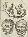 Francisci Ficoronii Reg. Lond. Acad. socii dissertatio de larvis scenicis et figuris comicis antiquorum Romanorum, et ex Italica in Latinam linguam versa (1754) (14779908024).jpg