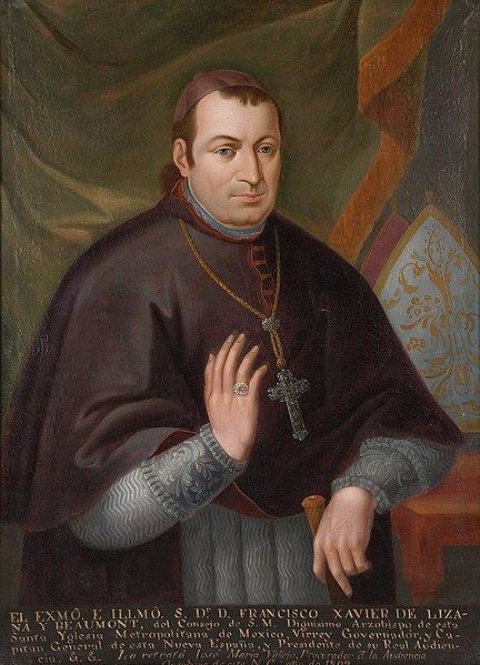 Retrato de Francisco Javier Lizana Beaumont.