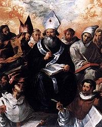 Francisco Herrera the Elder: Saint Basil Dictating His Doctrine