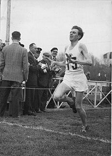 Frank Sando British distance runner