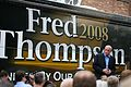 Fred Thompson and bus 2007.jpg