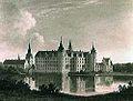 Frederiksborg ca 1850 by Andreas Thomas Juul.jpg