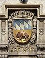 Freising, Wappen am Rathaus, 3.jpeg