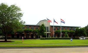 City Hall. Friendswood, Texas, USA, 77546