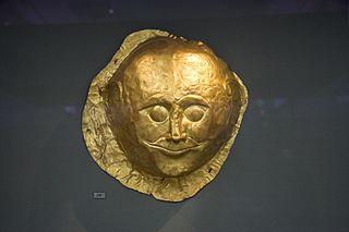 Death masks of Mycenae