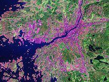 Göteborg dal satellite