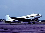 G-AMSV DC3 Air Atlantique CVT 1982 (28984563924).jpg