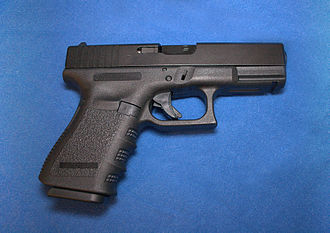 Seung-Hui Cho - Glock 19 semi-automatic pistol, one of the models of handguns used by Cho