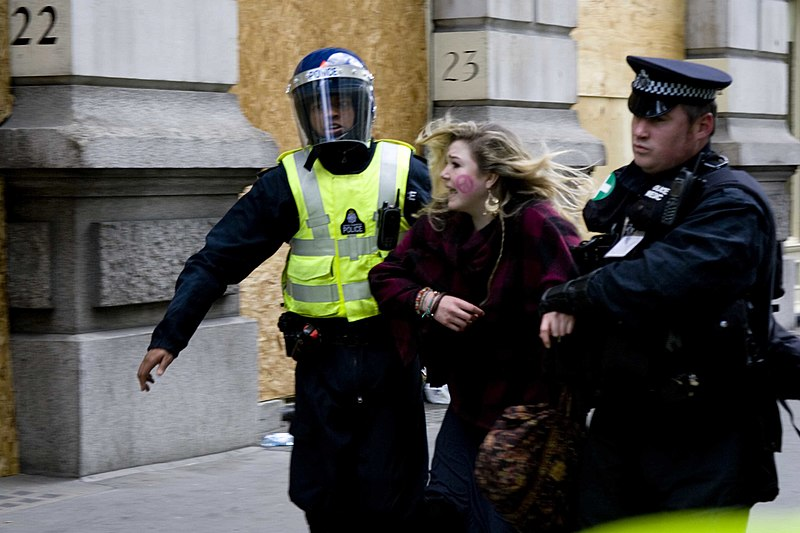 File:G20 girl detained by police.jpg