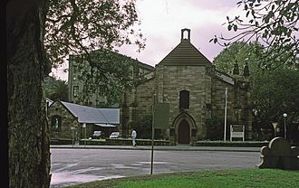 Millers Point, New South Wales - Image: GARRISON CHURCH SYDNEY