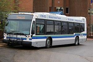 Grande Prairie Transit - Image: GP Transit Bus