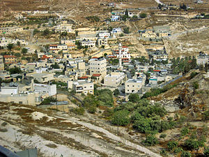 Jabel Mukaber - Houses located in the lower part of Jabel Mukaber.