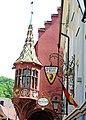 Gable detail of the Historisches kaufhaus at Freiburg. See also the preceeding image - panoramio.jpg