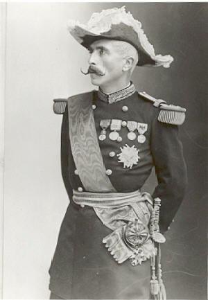 Gaston Alexandre Auguste, Marquis de Galliffet - Photo of the marquis de Galliffet by Nadar.