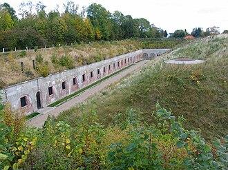 Garderhøj Fort - Image: Garderhoejfort Fodfolkskasernen