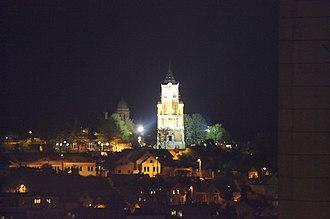 Gardoš Tower - Gardoš Tower at night