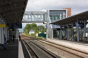 Strasbourg Airport - The Entzheim-Aéroport train station