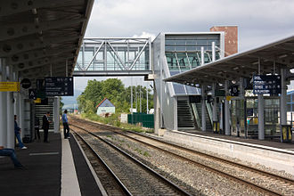 Strasbourg Airport - The Entzheim-Aéroport train station