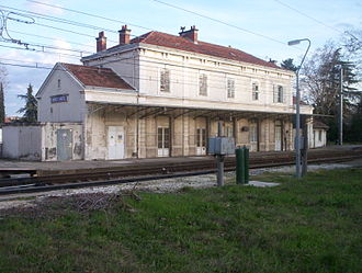 Bourg-Saint-Andéol - The railway station