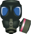 Gas mask.svg