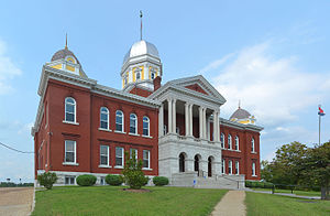 Gasconade County Courthouse in Hermann