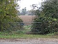 Gate to a field of Upperwoods Farm, Beckley - geograph.org.uk - 1588663.jpg
