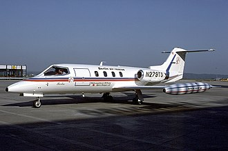 2012 Mexico Learjet 25 crash - A Learjet 25 similar to the accident aircraft