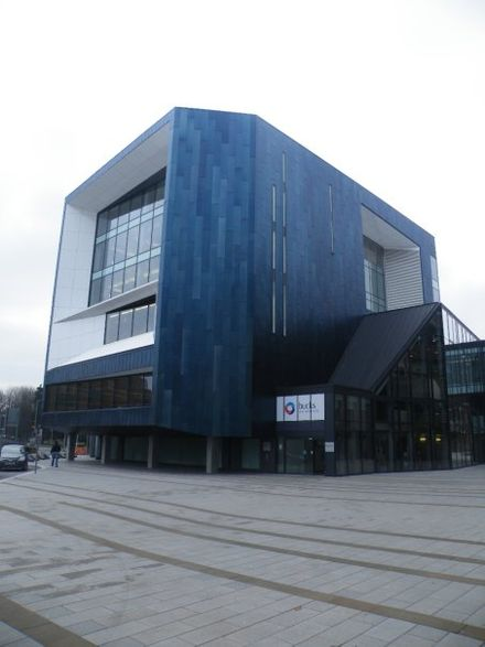 The Gateway Building, Buckinghamshire New University, High Wycombe. Gateway building BNU.jpg