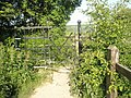 Gateway halfway between Emsworth and Warblington on the Wayfarers Walk - geograph.org.uk - 1321104.jpg